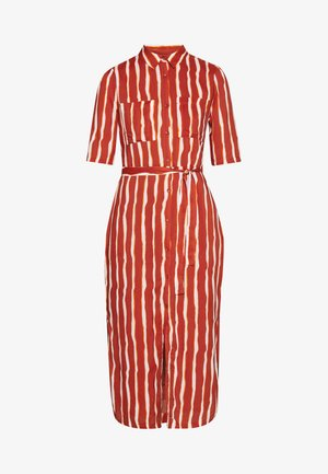 SORBONNE DRESS - Blusenkleid - burned orange