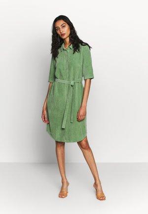 ANGIE DRESS - Shirt dress - comfrey