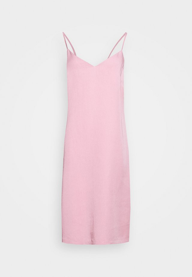 BERGEN DRESS - Korte jurk - pink nectar