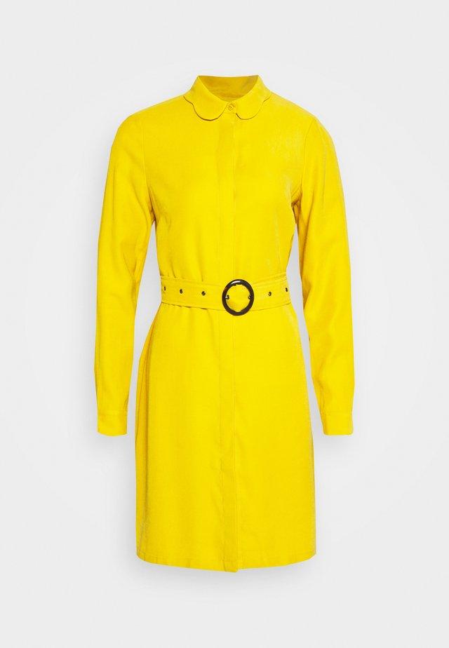 PERI DRESS - Blousejurk - lemon curry