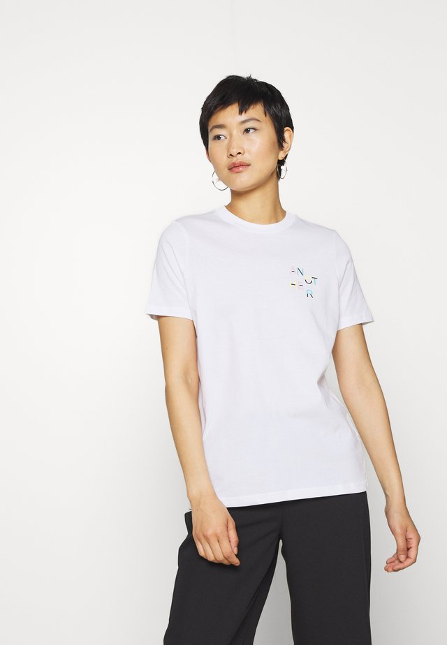 MEMPHIS - T-shirt imprimé - bright white