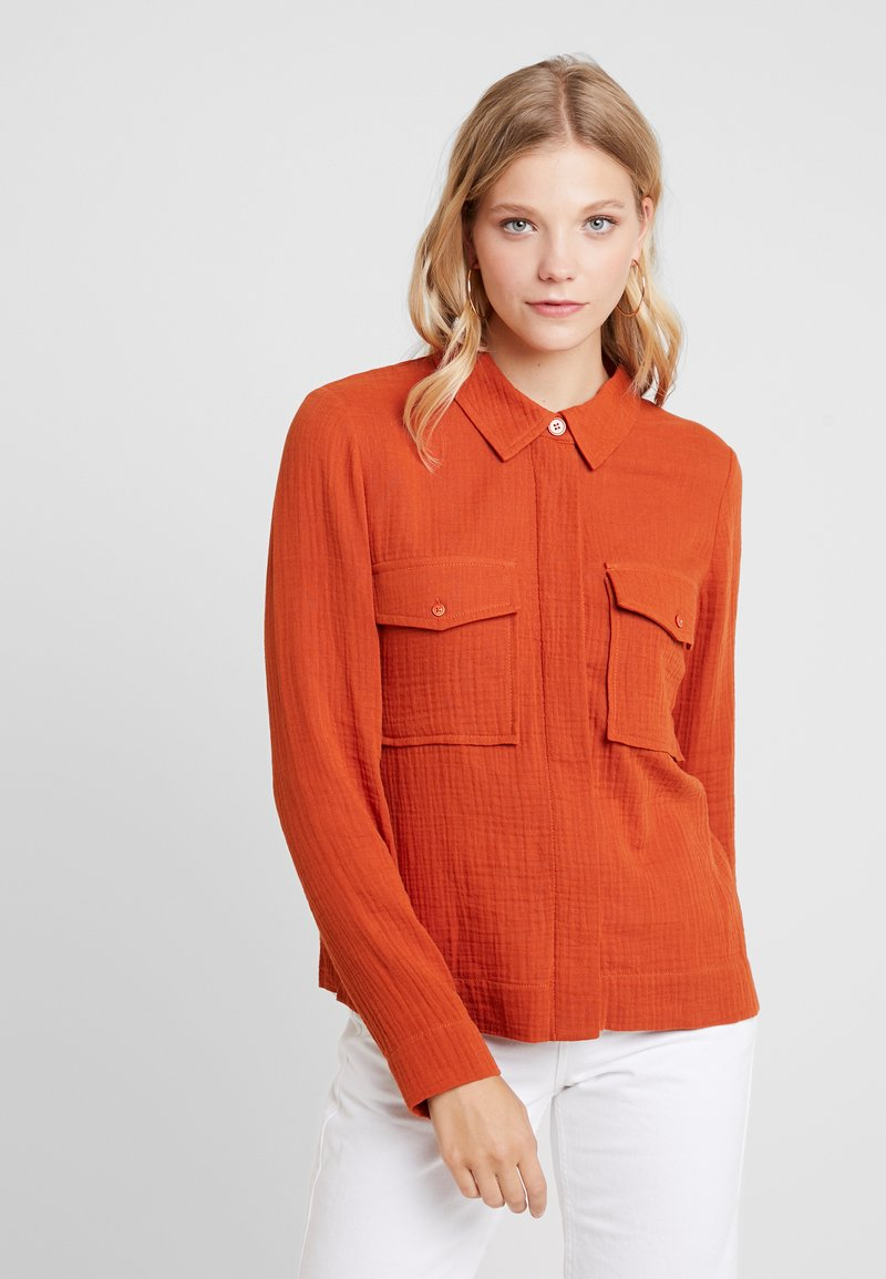 Another-Label - TURENNE - Bluse - cinnamon stick