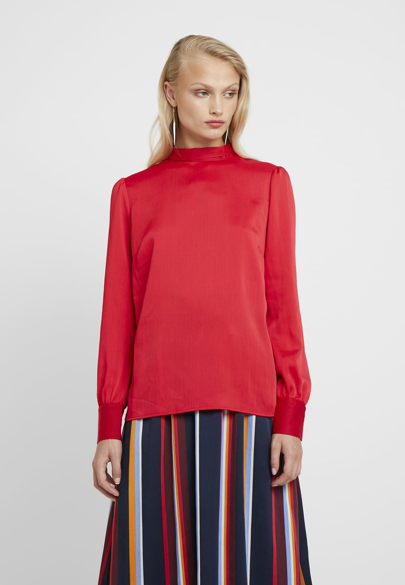 Another-Label - VANCOLEAR - Blouse - ski cherry