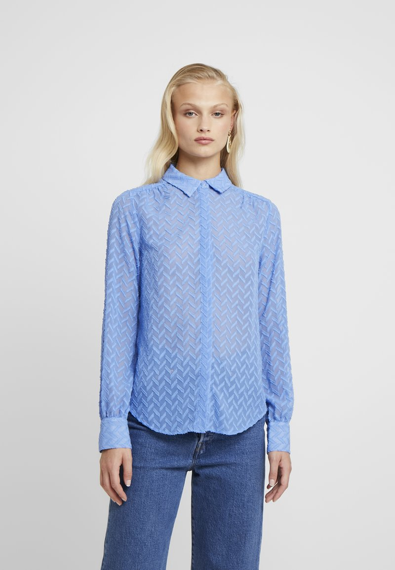 Another-Label - MAPLE  - Button-down blouse - granada sky