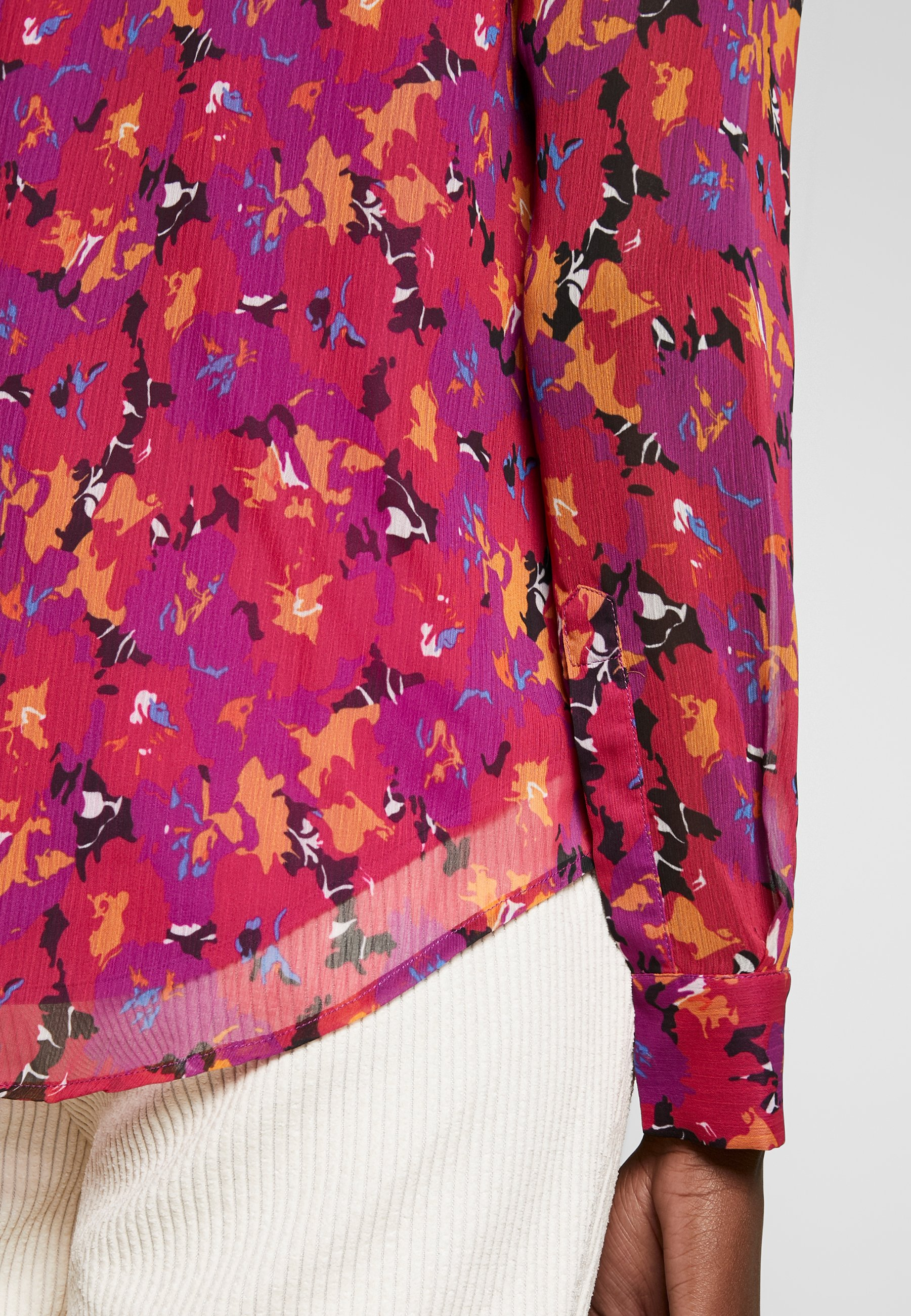 Another-Label ALIX - Button-down blouse - multi collage QS76z