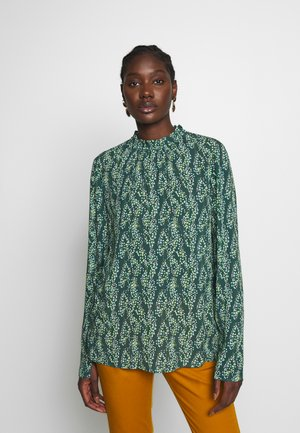 PYRAMIDES - Blouse - sea moss