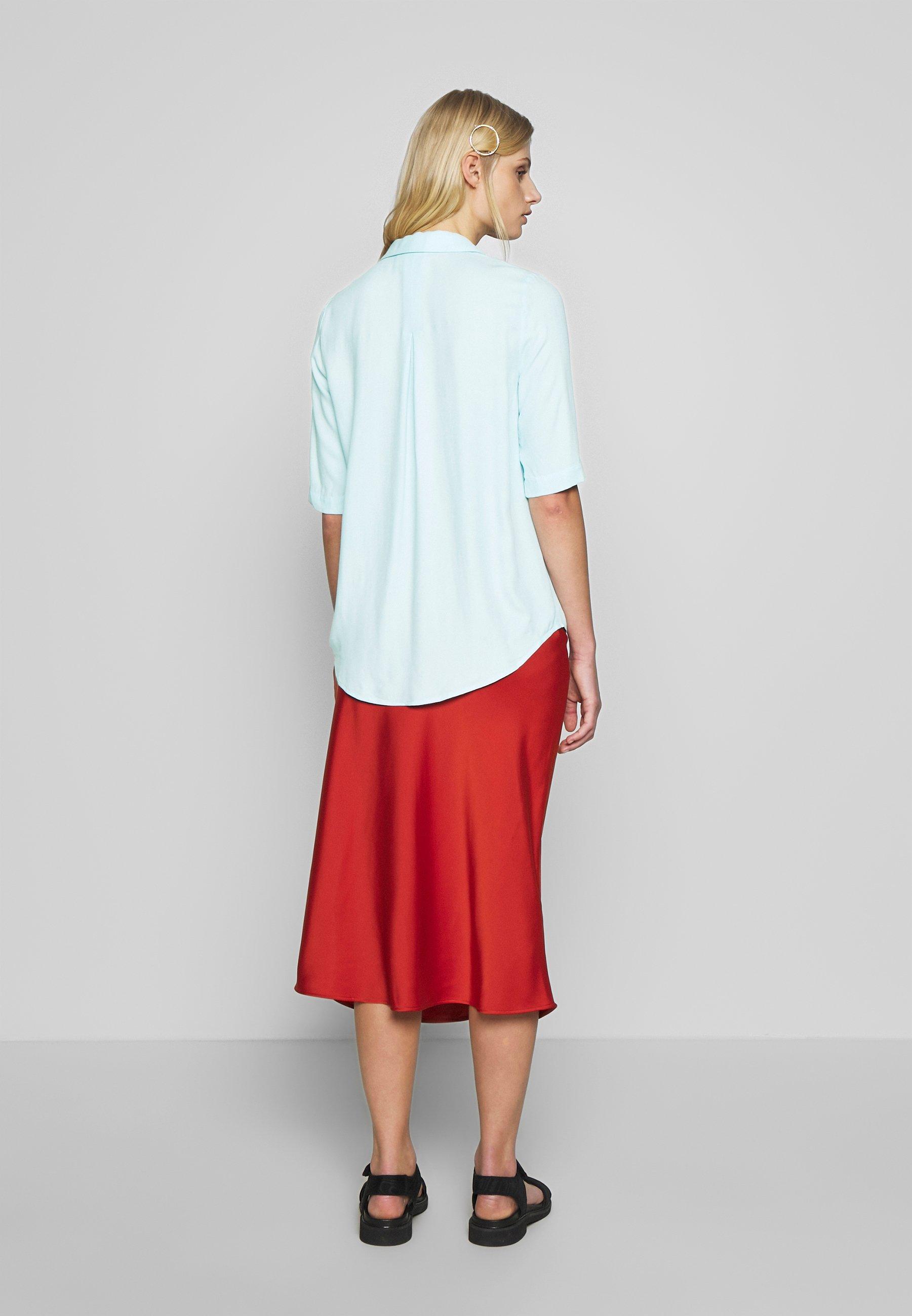 Another-Label BACHE - Button-down blouse - light blue HSvJG