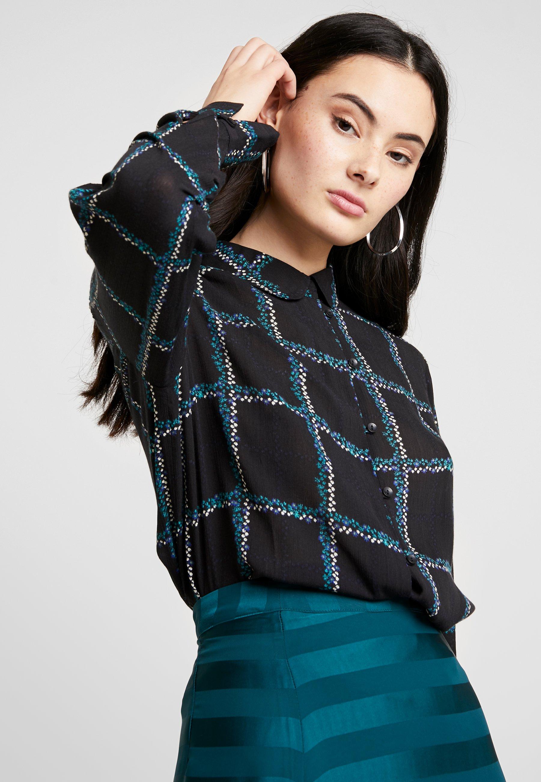 Another-Label REVILLE - Button-down blouse - black 7CZDm