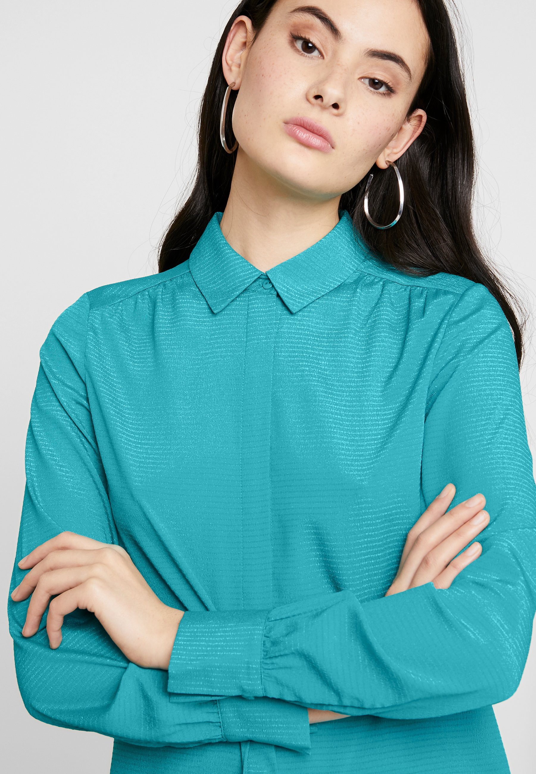 Another-Label MAPLE - Camicia - tropical green