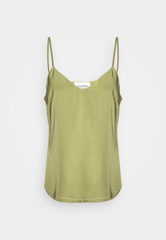 BIBIE TOP - Toppe - loden green