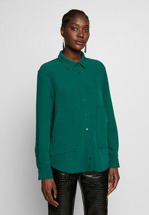 ABELIA - Button-down blouse - sea moss