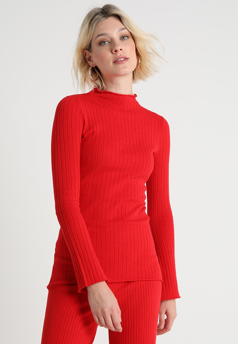 Another-Label - MILES - Strickpullover - chinese red