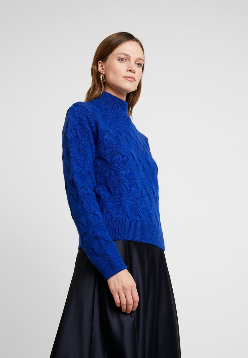 Another-Label - VIVIENNE - Strickpullover - clemantis blue