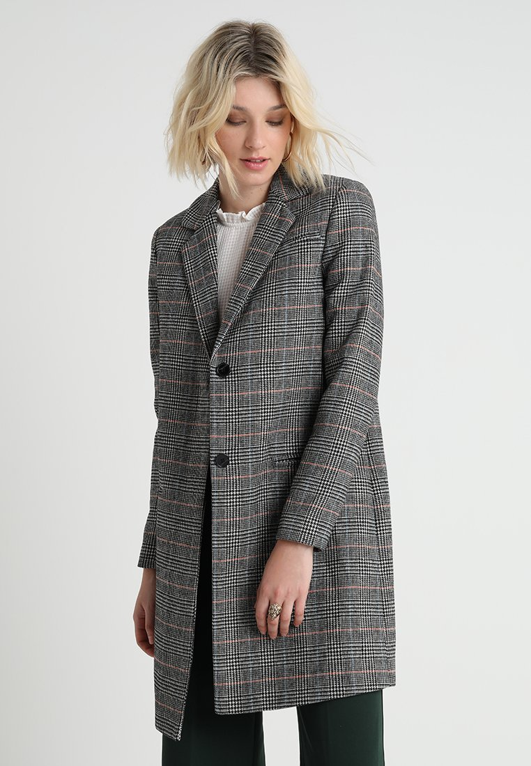 Another-Label - DONO CHECK COAT - Wollmantel/klassischer Mantel - multi grey