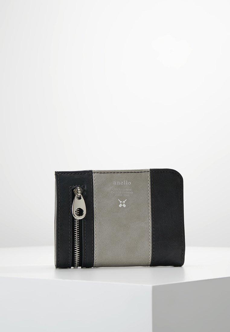 anello - ZIP WALLET VEGAN - Portafoglio - grey putty