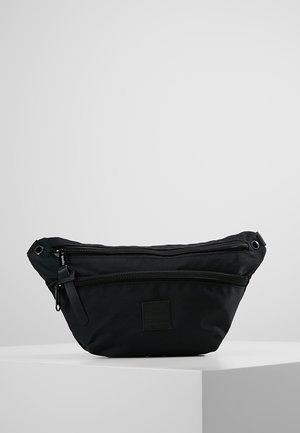 ZIP BUM BAG - Rumpetaske - black