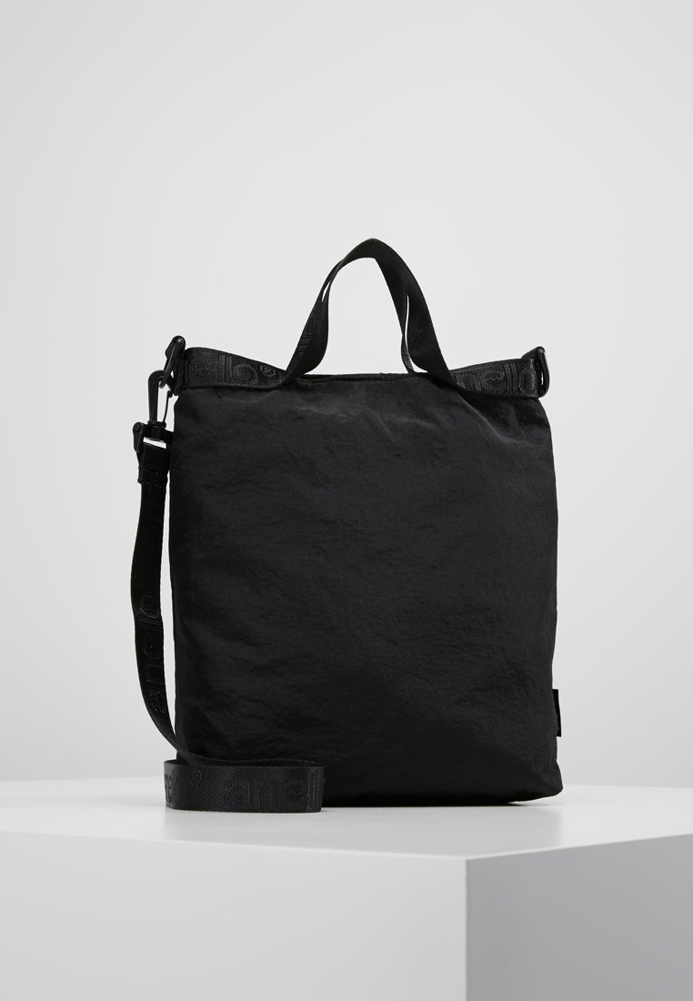 anello - LOGO TAPING MESSENGER - Across body bag - black