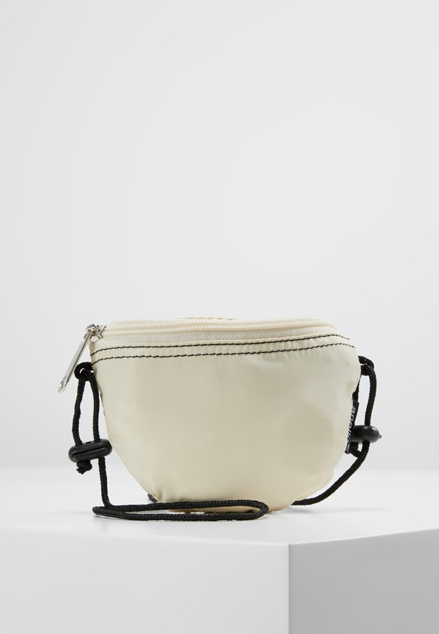 HIP BAG NECK POUCH - Bum bag - ivory