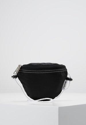 HIP BAG NECK POUCH - Bum bag - black