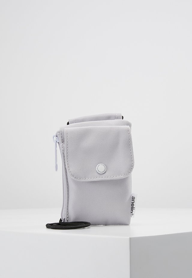 SQUARE NECK POUCH - Umhängetasche - light grey