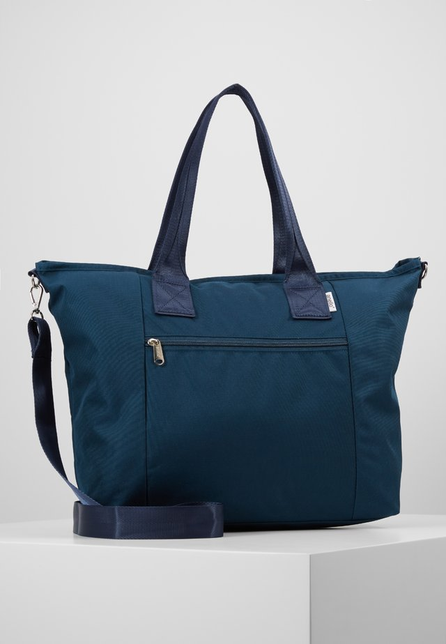 TOTE BAG LARGE - Tote bag - navy
