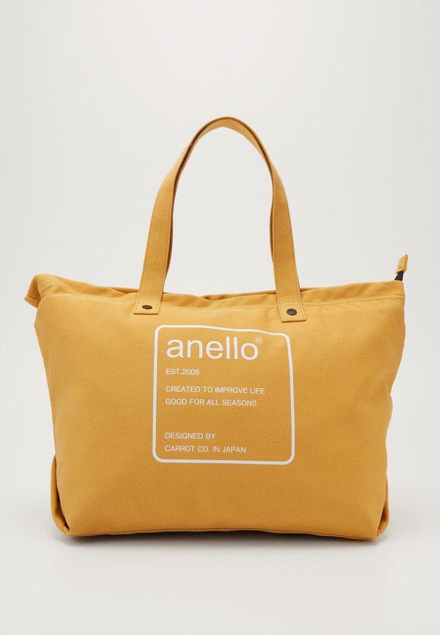 AUBREY TOTE BAG  - Shopping Bag - mustard