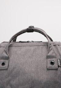 anello - TOTE BACKPACK MELANGE - Rucksack - grey - 8