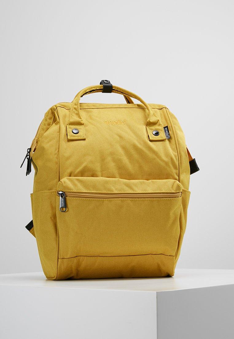 anello - TOTE BACKPACK MELANGE - Rygsække - yellow