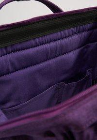 anello - TOTE BACKPACK MELANGE - Rygsække - purple - 4