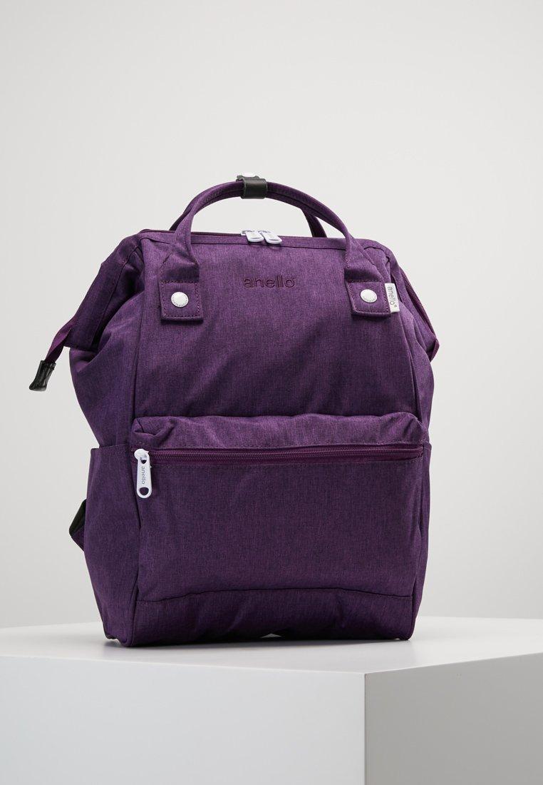 anello - TOTE BACKPACK MELANGE - Rugzak - purple
