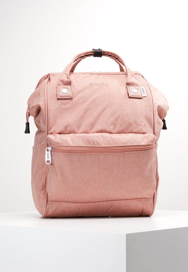 anello - TOTE BACKPACK MELANGE - Rygsække - pink