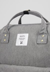 anello - BACKPACK PLAIN - Reppu - denim grey - 3