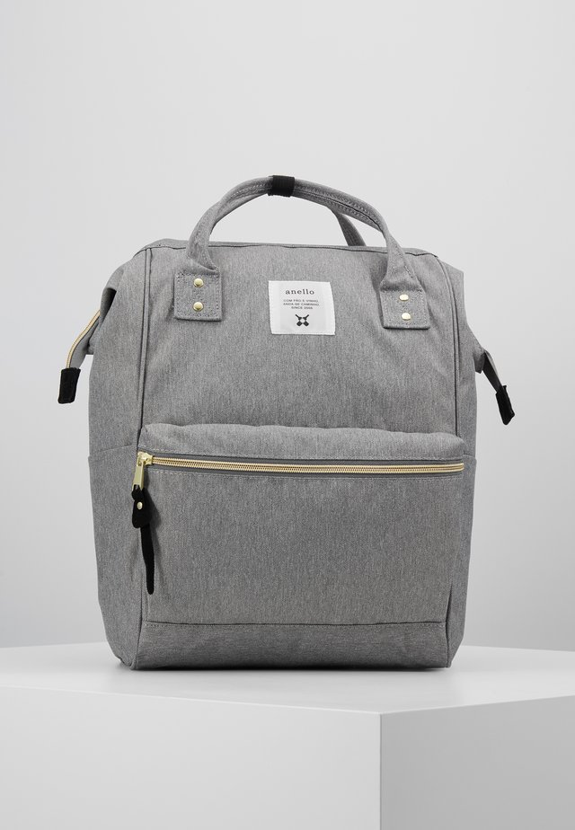 BACKPACK PLAIN - Rucksack - denim grey