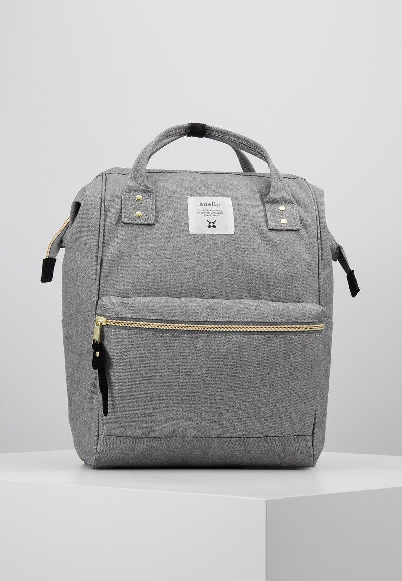 anello - BACKPACK PLAIN - Reppu - denim grey