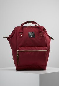 anello - BACKPACK PLAIN - Sac à dos - wine - 0