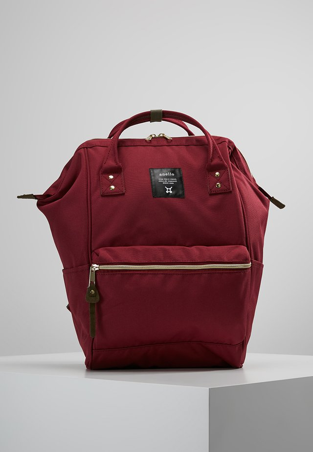 BACKPACK PLAIN - Rucksack - wine