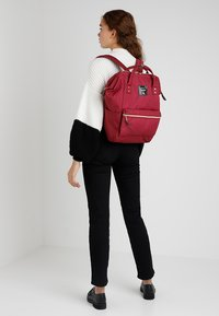 anello - BACKPACK PLAIN - Sac à dos - wine - 5