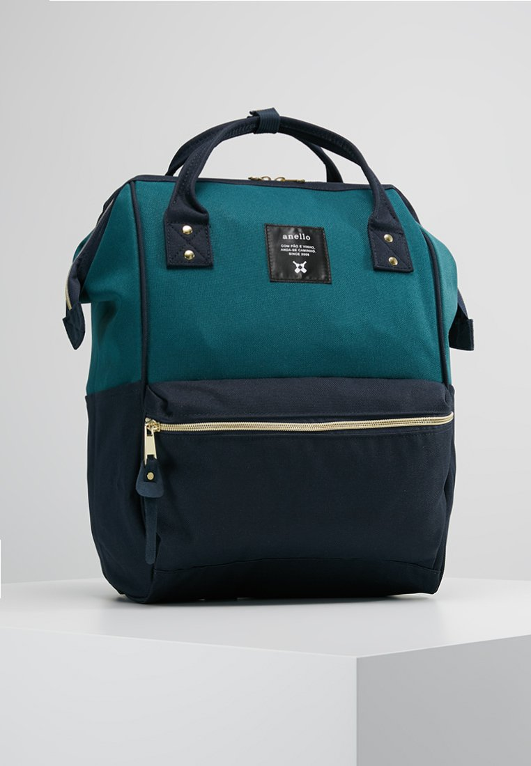 anello - BACKPACK PLAIN - Ryggsekk - blue/navy