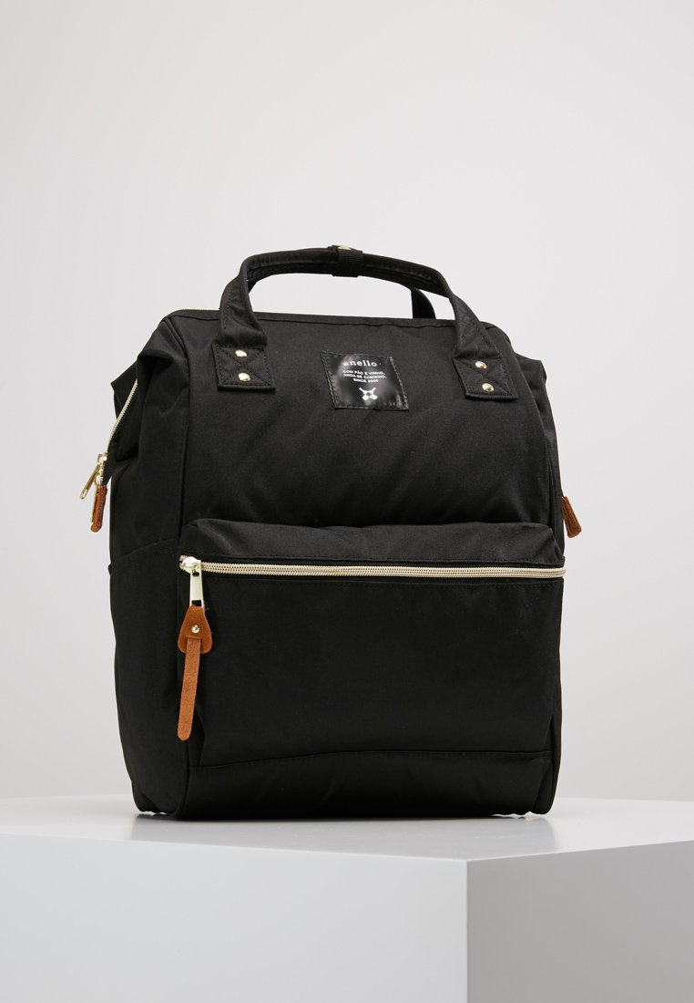 anello - BACKPACK PLAIN - Rucksack - black