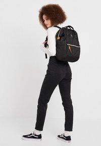 anello - BACKPACK PLAIN - Rucksack - black - 5