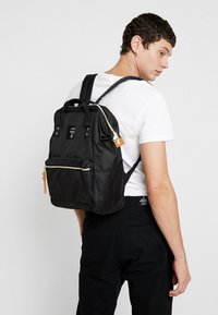 anello - BACKPACK PLAIN - Rucksack - black - 1