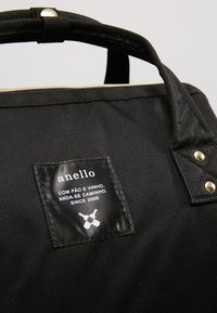 anello - BACKPACK PLAIN - Rucksack - black - 7