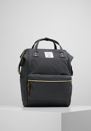 TOTE BACKPACK COLOR BLOCK LARGE - Rucksack - grey
