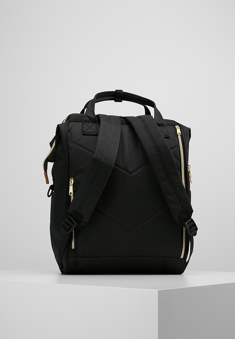 Color Tote Backpack Block Anello À LargeSac Black Dos TJc13lFuK5