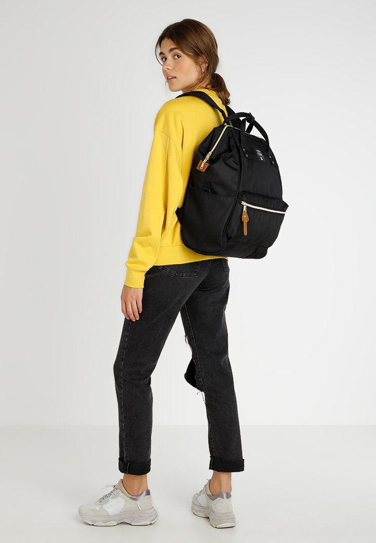 Anello Tote Backpack Color Block Large - Sac À Dos Black qqBgCUF