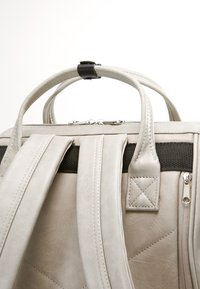 anello - TOTE BACKPACK VEGAN LARGE - Rucksack - grey putty - 5