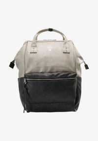 anello - TOTE BACKPACK VEGAN LARGE - Rucksack - grey putty - 8
