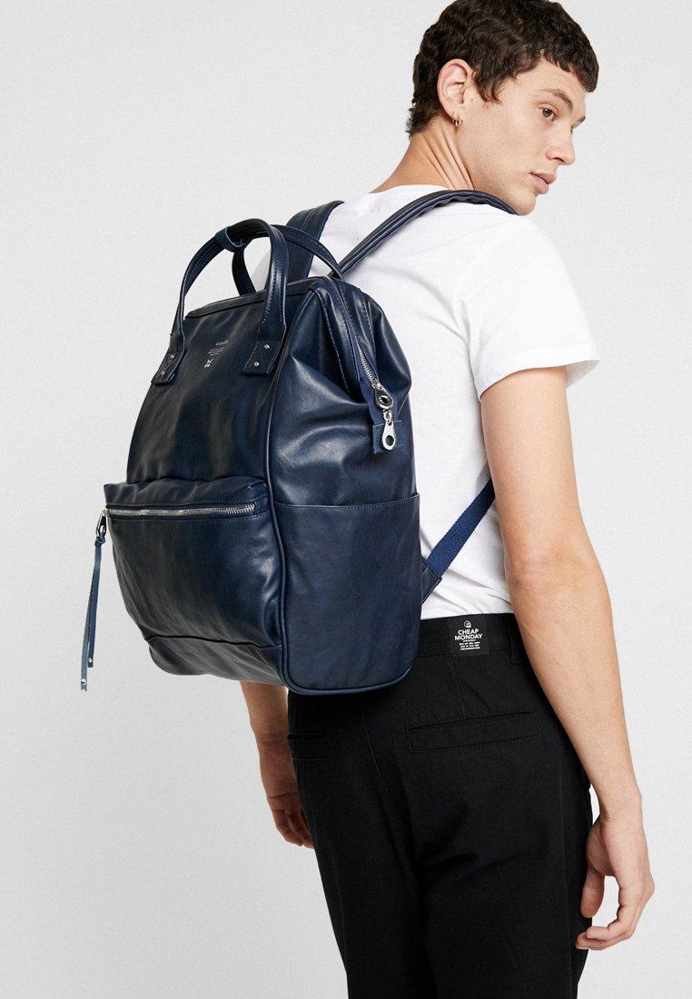 Anello Tote Backpack Vegan Large - Sac À Dos Navy lQSjm5l