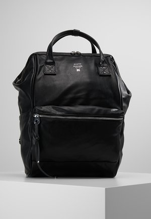 TOTE BACKPACK VEGAN LARGE - Ryggsäck - black