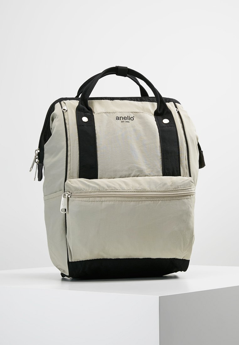 anello - TOTE BACKPACK PAPER TOUCH - Rugzak - grey
